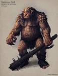 Nattircone Troll - Creature concept