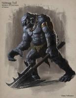 Nohtnagg Troll - Creature Design by Cloister
