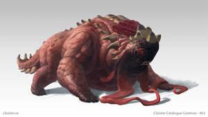 Gornhogg - creature design by Cloister