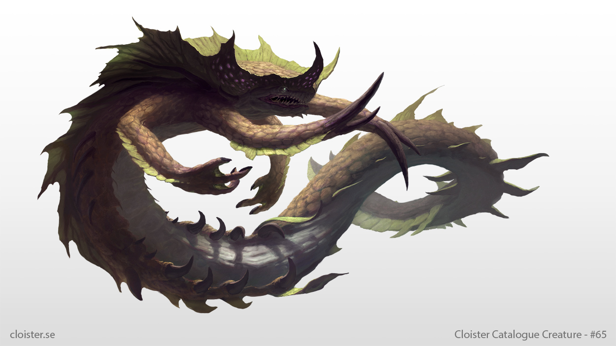 Saergathin - Creature Design