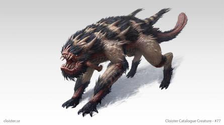 Wohrgnaal - creature design by Cloister