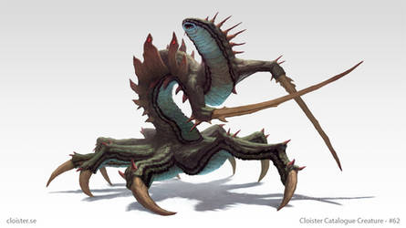 Lurlorach - creature design