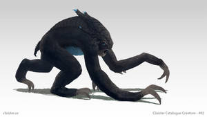Bleuborrah - troll creature concept by Cloister