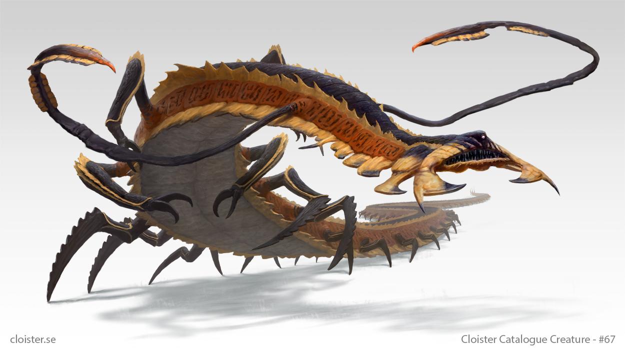 Metterix - creature design