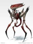 Hinodarthian - Creature concept