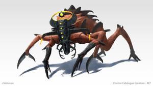 Grachoria - creature concept by Cloister