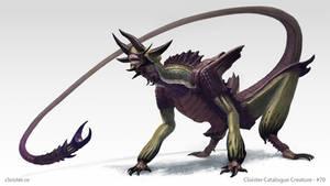 Haphnax - creature design