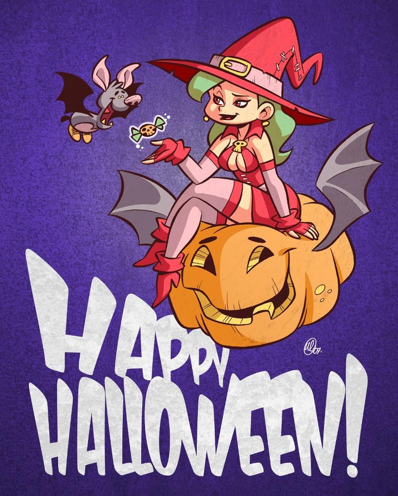 Happy Halloween by BezerroBizarro