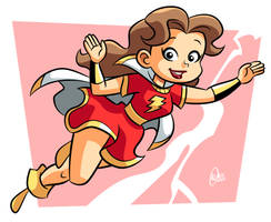 Mary Marvel by BezerroBizarro