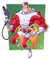Captain Canuck by BezerroBizarro