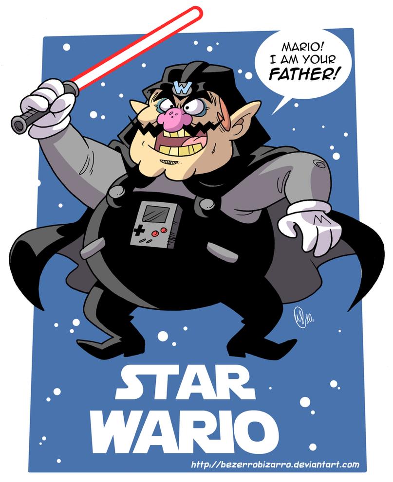 Star Wario by BezerroBizarro