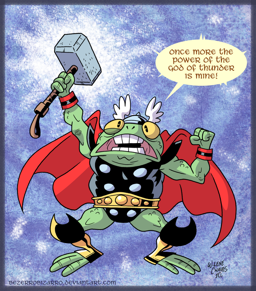 Frog of Thunder by BezerroBizarro