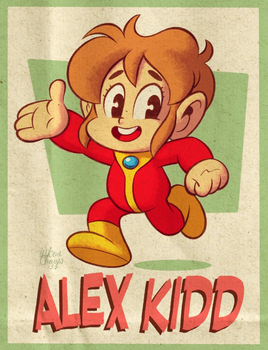 Alex Kidd by Waldemar Lene