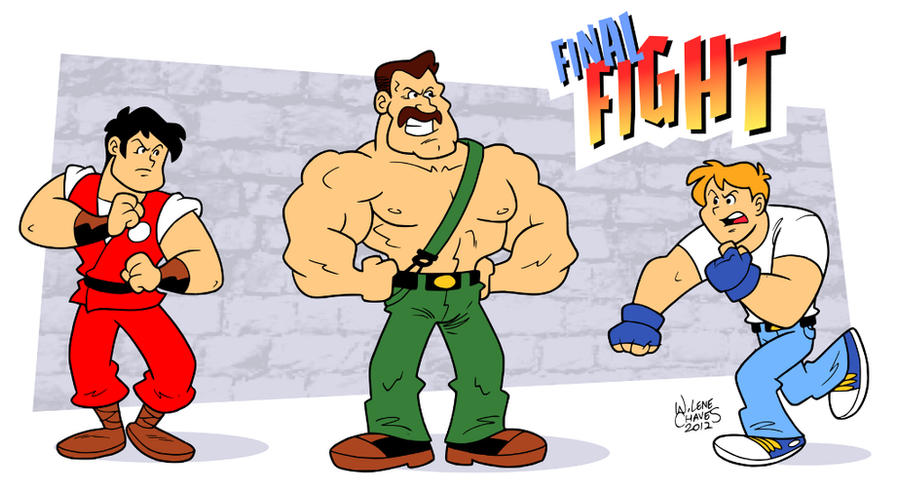 Final Fight by BezerroBizarro