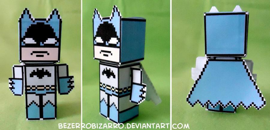 Batman papertoy by BezerroBizarro