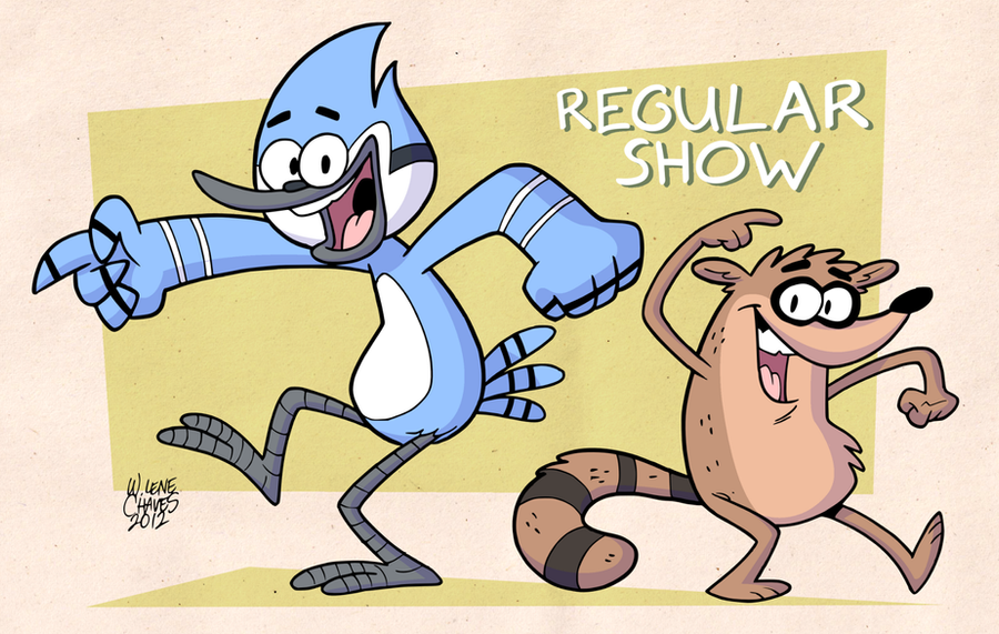 Mordecai And Rigby Ohh Wallpaper