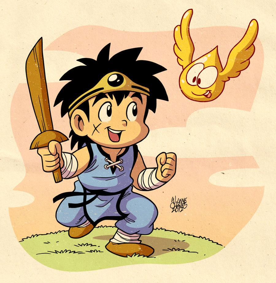 Dragon Quest Dai No Daibouken By Bezerrobizarro On Deviantart