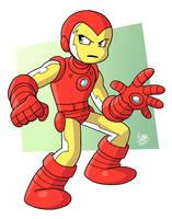 Iron Man by BezerroBizarro