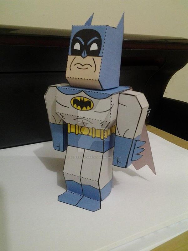wallpaper craft batman: Batman Papercraft By BezerroBizarro On DeviantArt