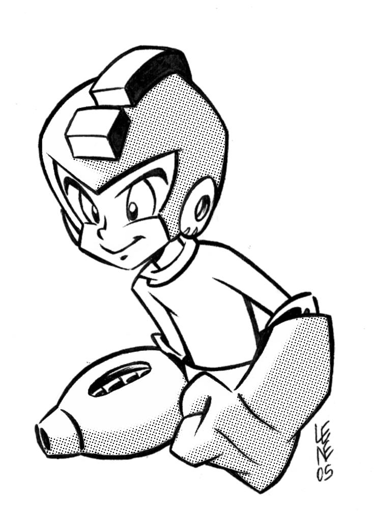 Megaman by BezerroBizarro