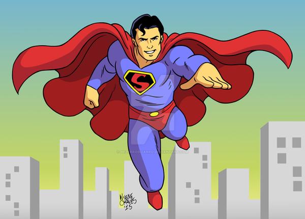 Superman by BezerroBizarro