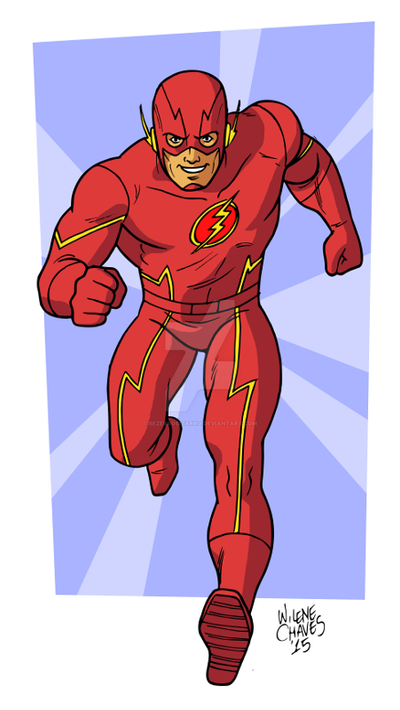 The Flash from TV show by BezerroBizarro