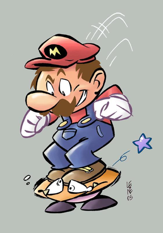Mario by BezerroBizarro