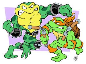 Toad Vs Turtle