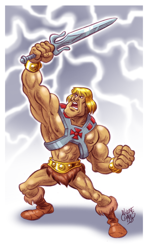 He-Man by BezerroBizarro