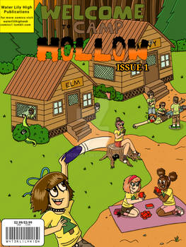 Welcome To Camp Hollow Comic Book Cover Issue 1