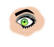DA Eye Tutorial I Followed