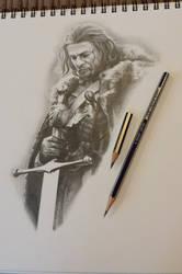 eddard stark sketch