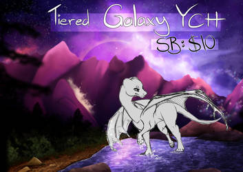 Tiered YCH: Galaxy Lake CLOSED by xX-Starduster-Xx