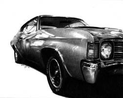 1972 Chevelle 454 by Titan360
