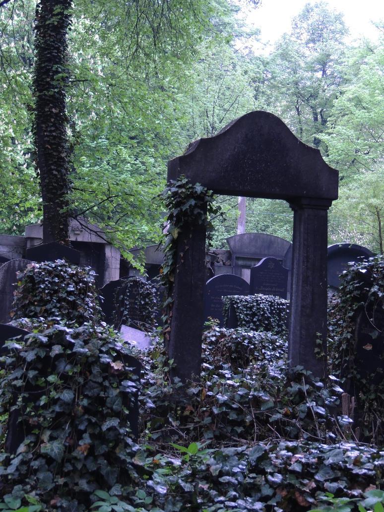 random cemetery by Rej-kun
