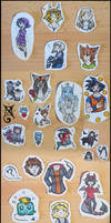 AT, Comm and Gift: Stickers - Pyrkon