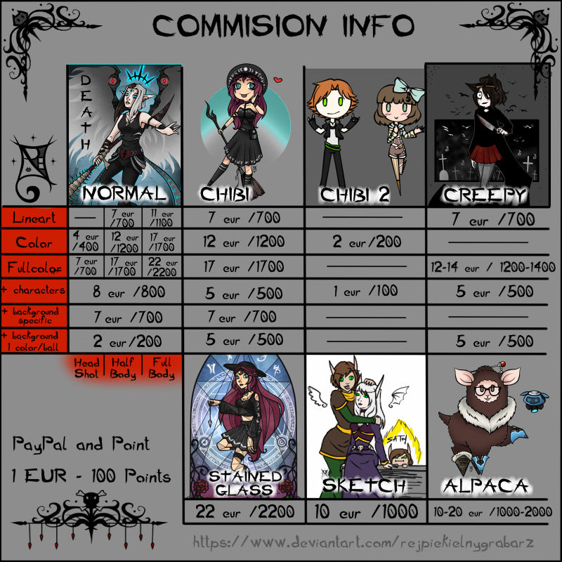 Comision info [open]