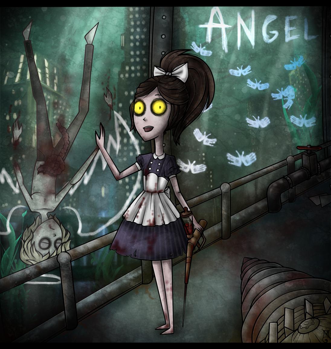 Bioshock: Little Sister art