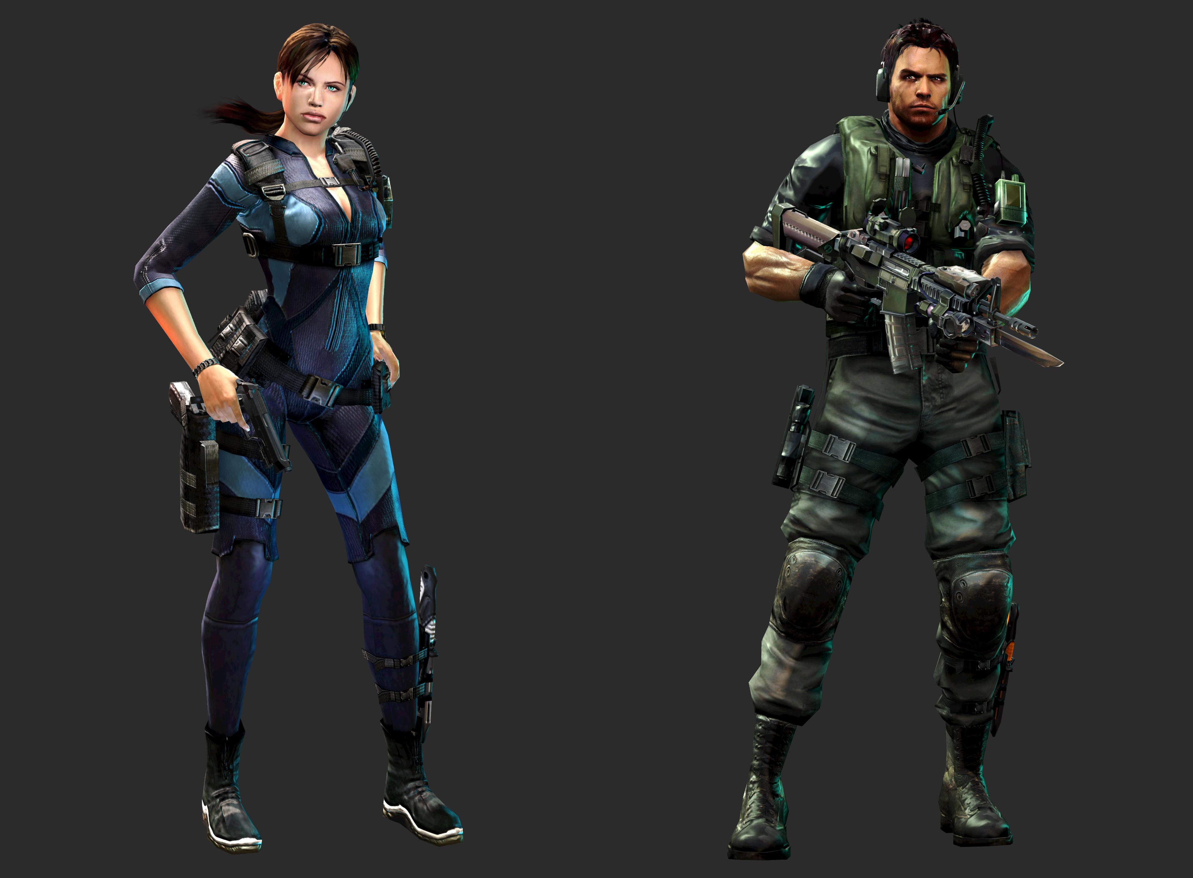 Chris Redfield Jill Valentine Resident Evil by stalkersdxx on DeviantArt