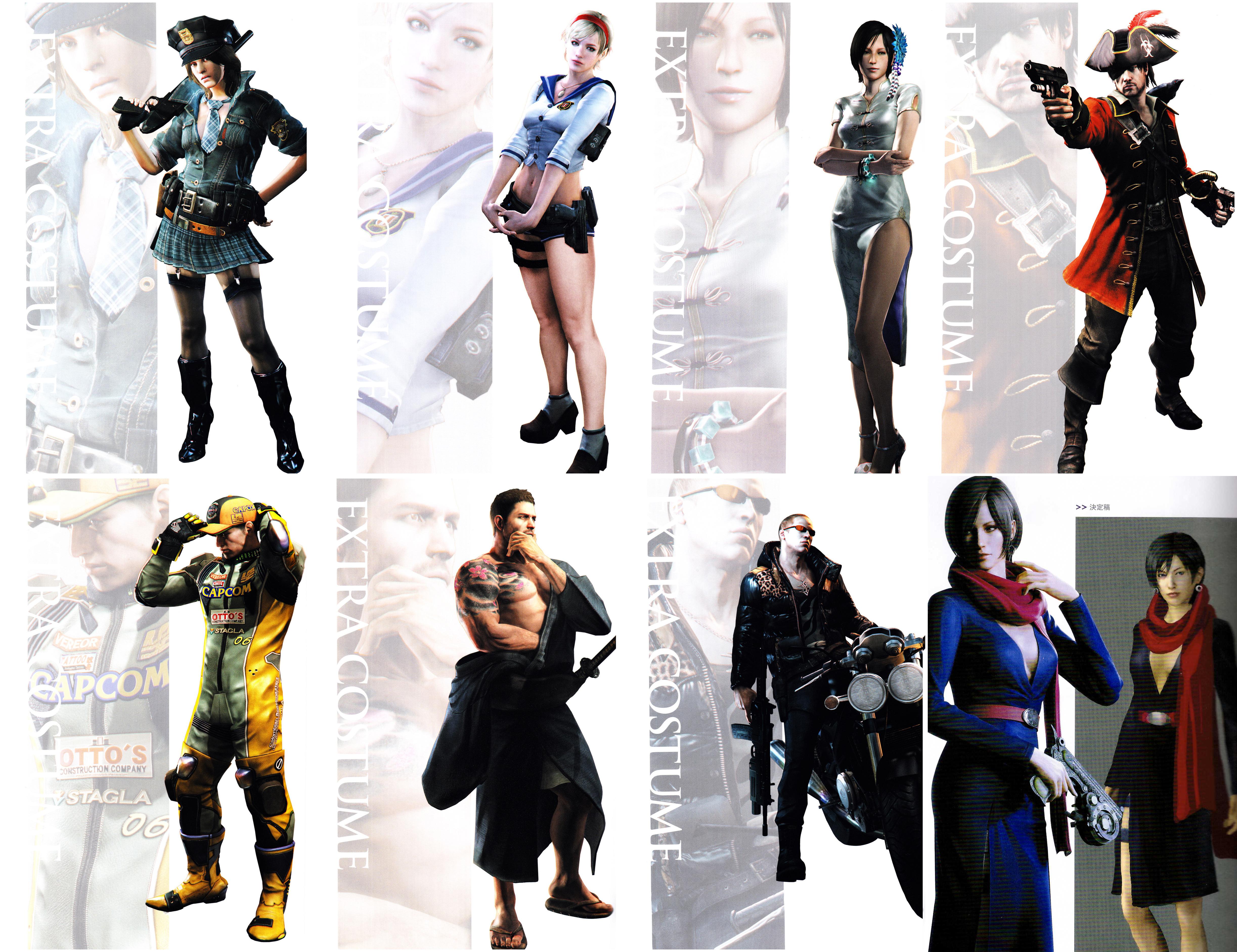 Resident Evil 6 Extra Costume By Stalkersdxx On Deviantart