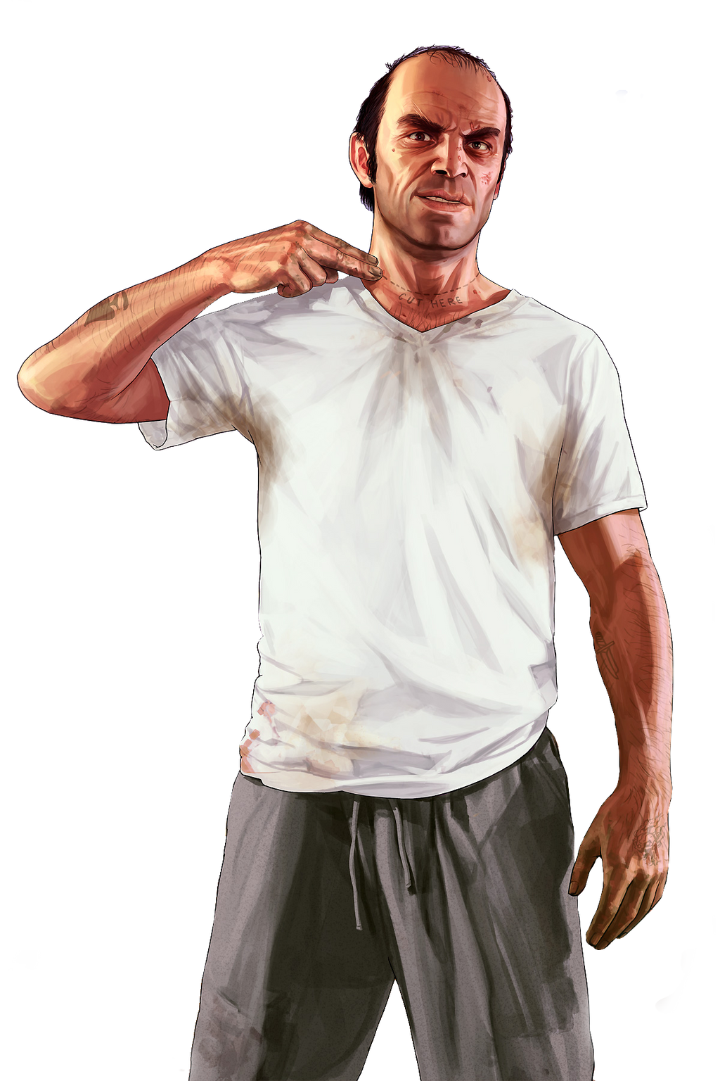 Grand Theft Auto 5 Characters Png - 0425