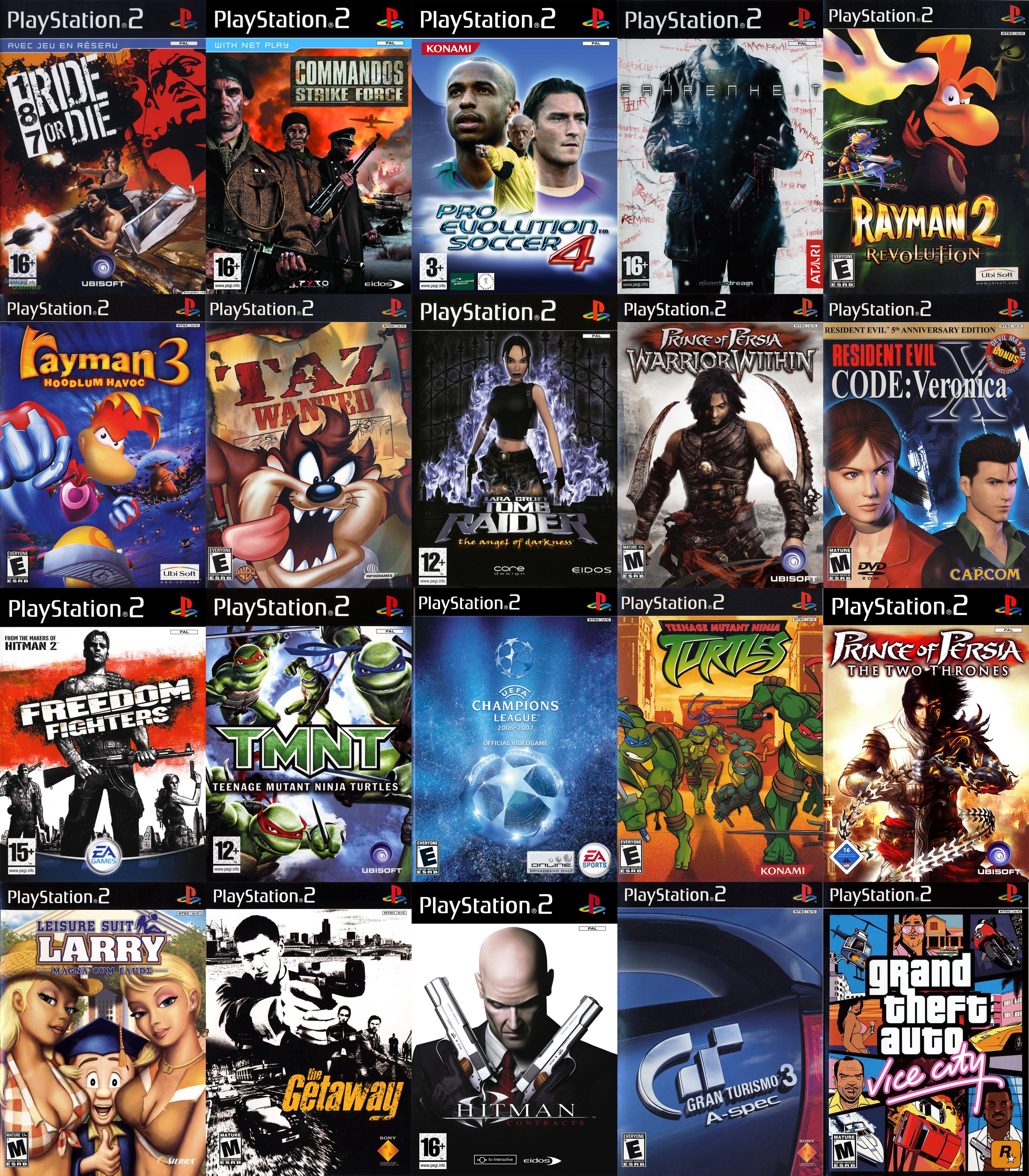 playstation 2 latest games
