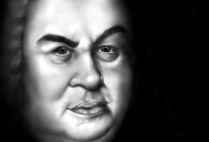 Johann Sebastian Bach... by SprayCaint123