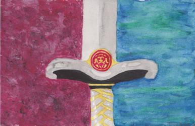 Dreas's sword
