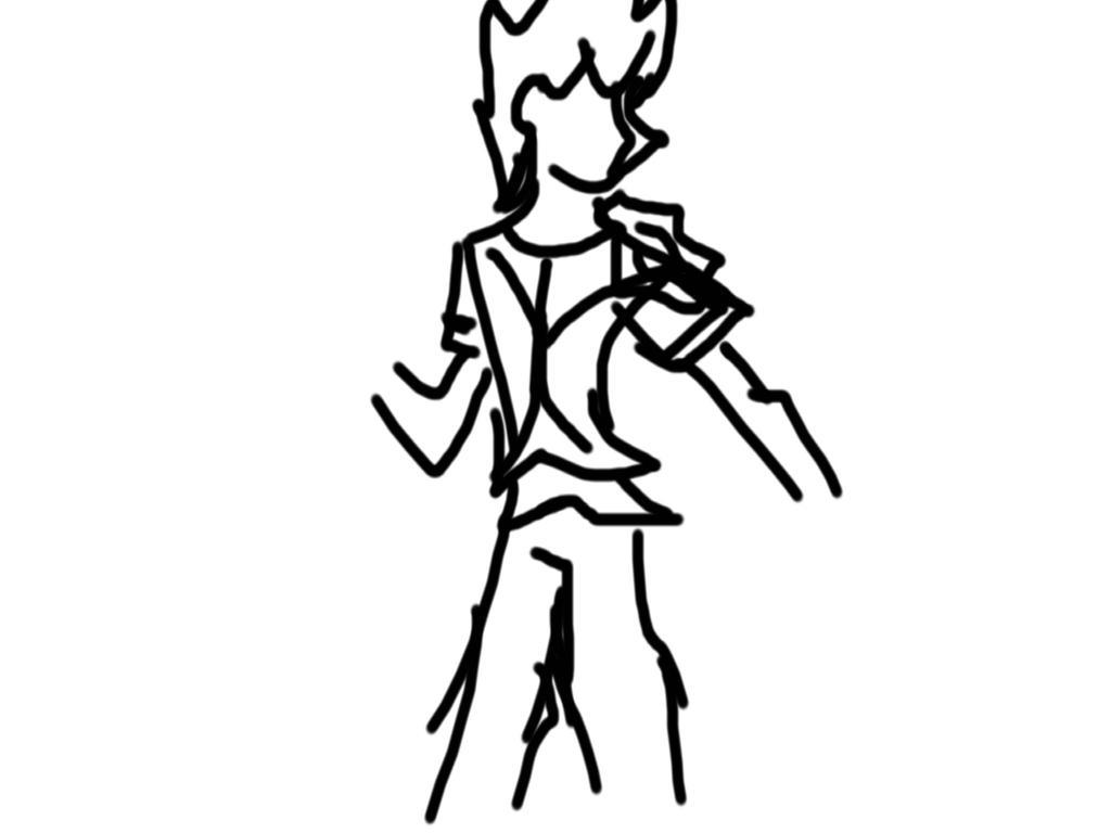 Random ventus doodle by Allebasii