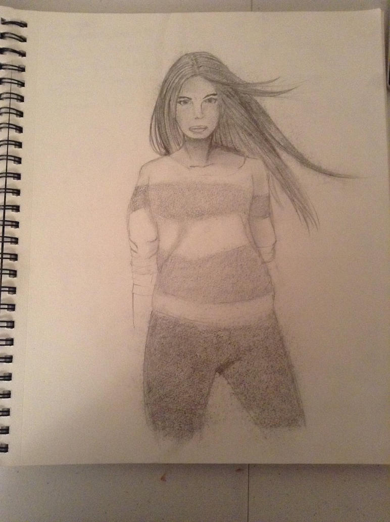 Woman sketch by V3raD