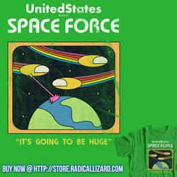 Retro Space Force by RezaBisuto