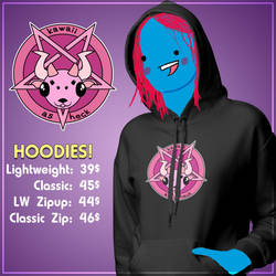 Mock Up Hoodies by RezaBisuto