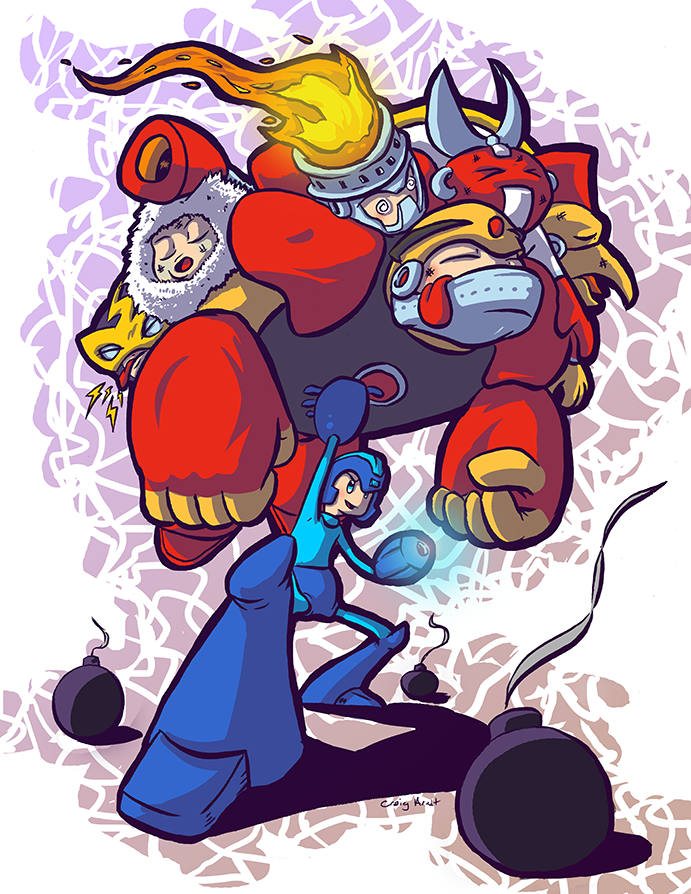 Megaman Tribute Fail by CraigArndt