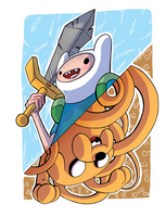 Finn and Jake by CraigArndt